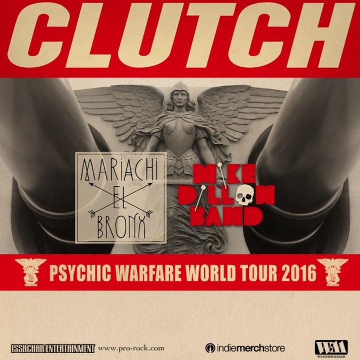 Clutch @ Sands Bethlehem Event Center - Bethlehem, PA