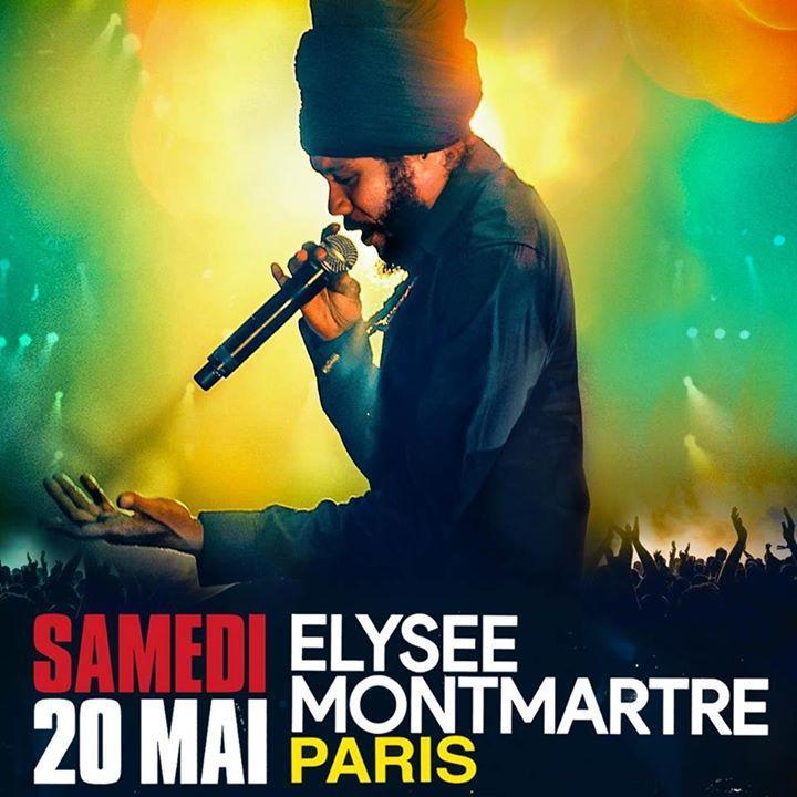 Yaniss Odua @ ELYSEE MONTMARTRE - Paris, France