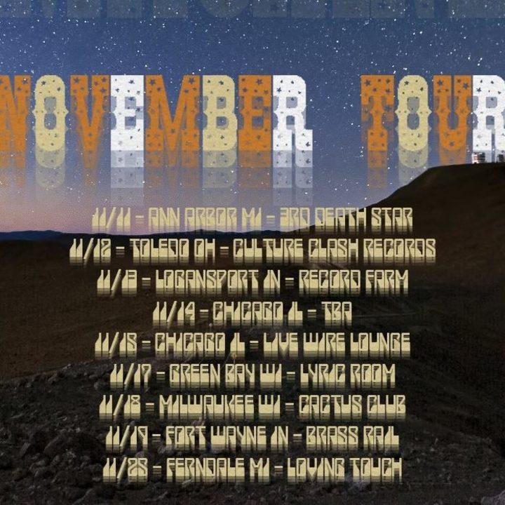 Bison Machine Tour Dates