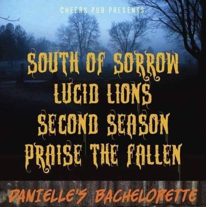 South Of Sorrow Tour Dates