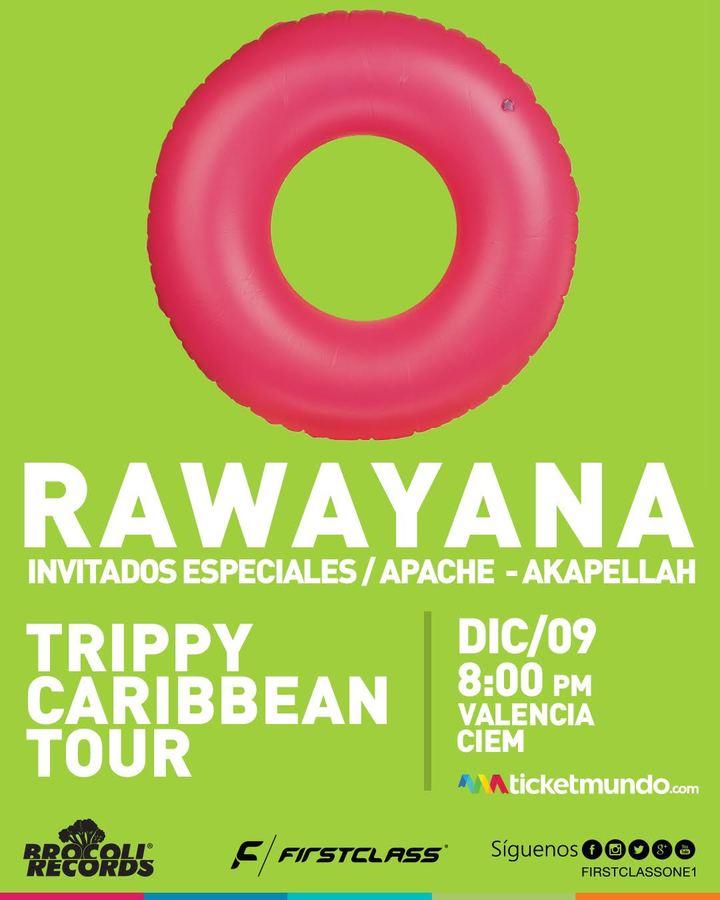 Rawayana @ C.I.E.M | Trippy Caribbean Tour - Valencia, Venezuela