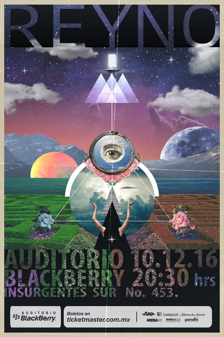 REYNO @ Auditorio BlackBerry - México, Mexico