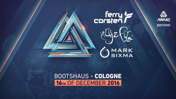 Aly & Fila @ Awake @ Boothaus - Cologne, Germany