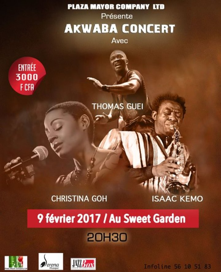 CHRISTINA GOH @ 100 Tambours - Abidjan, Cote D'ivoire