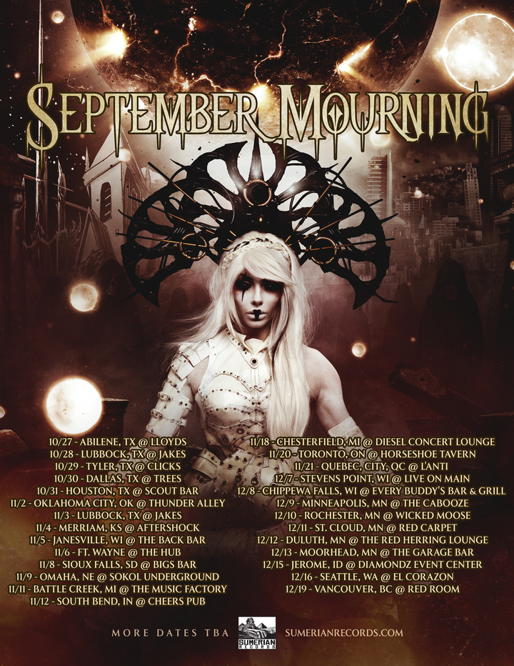 September Mourning @ Red Room - Vancouver, Canada