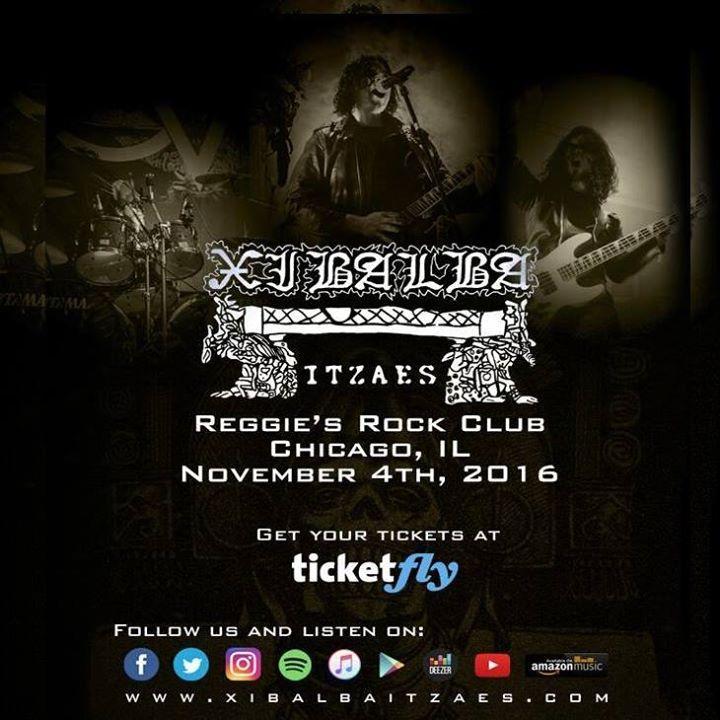 Xibalba Itzaes Tour Dates