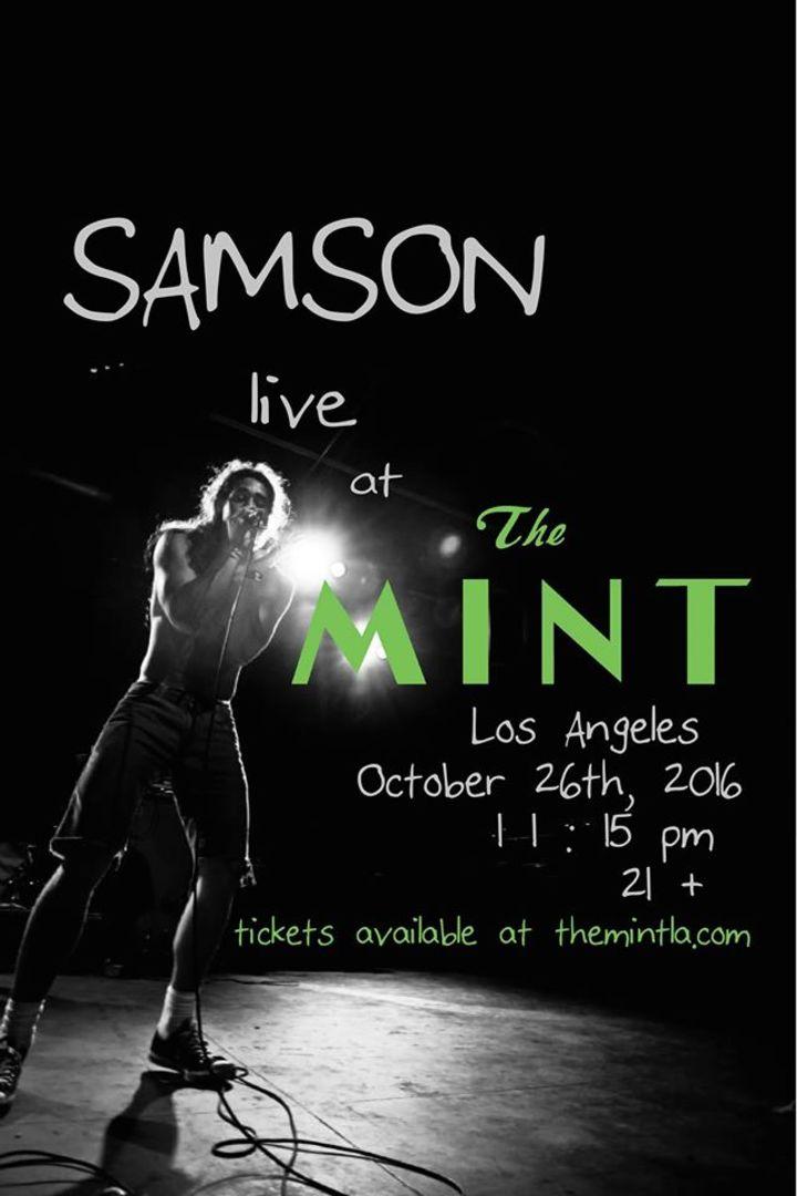 Samson Tour Dates