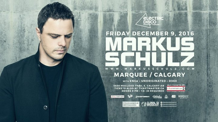 Markus Schulz @ Marquee Beer Market & Stage - Calgary, Canada