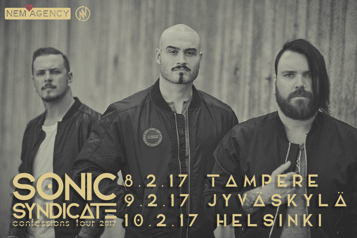 Sonic Syndicate Official @ Klubi - Tampere, Finland