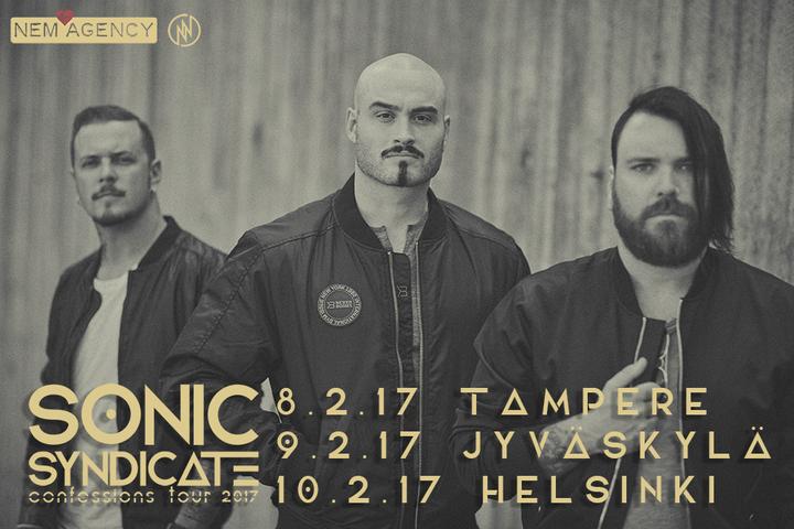 Sonic Syndicate Official @ Virgin Oil Co - Helsinki, Finland