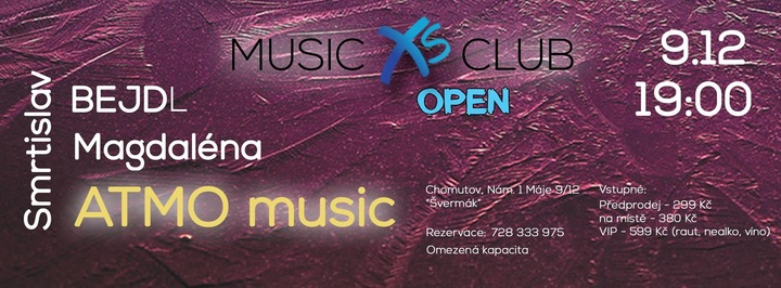 BEJDL @ Music XS club - Chomutov, Czech Republic