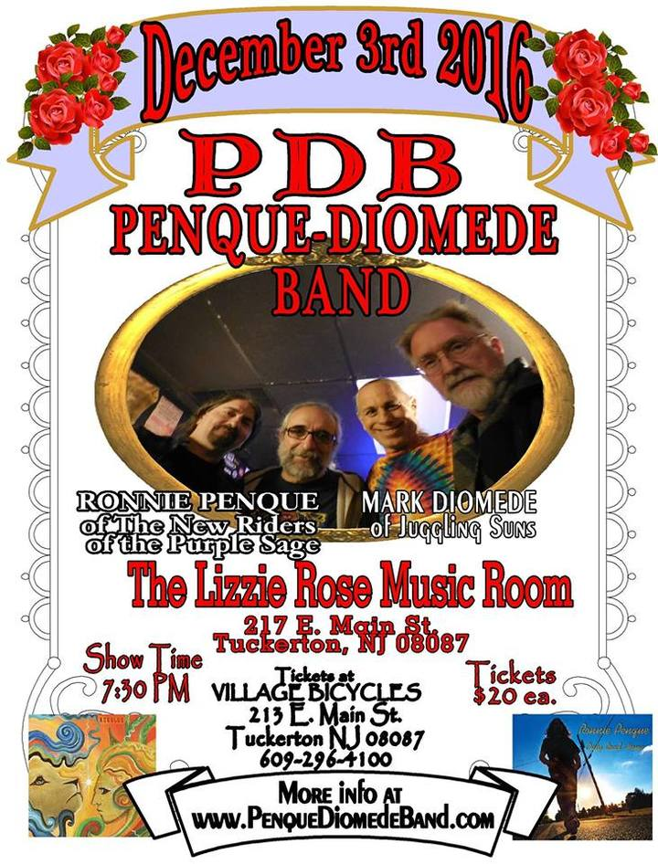 The Penque-Diomede Band @ The Lizzie Rose Music Room - Tuckerton, NJ