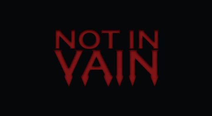 Not in Vain Tour Dates