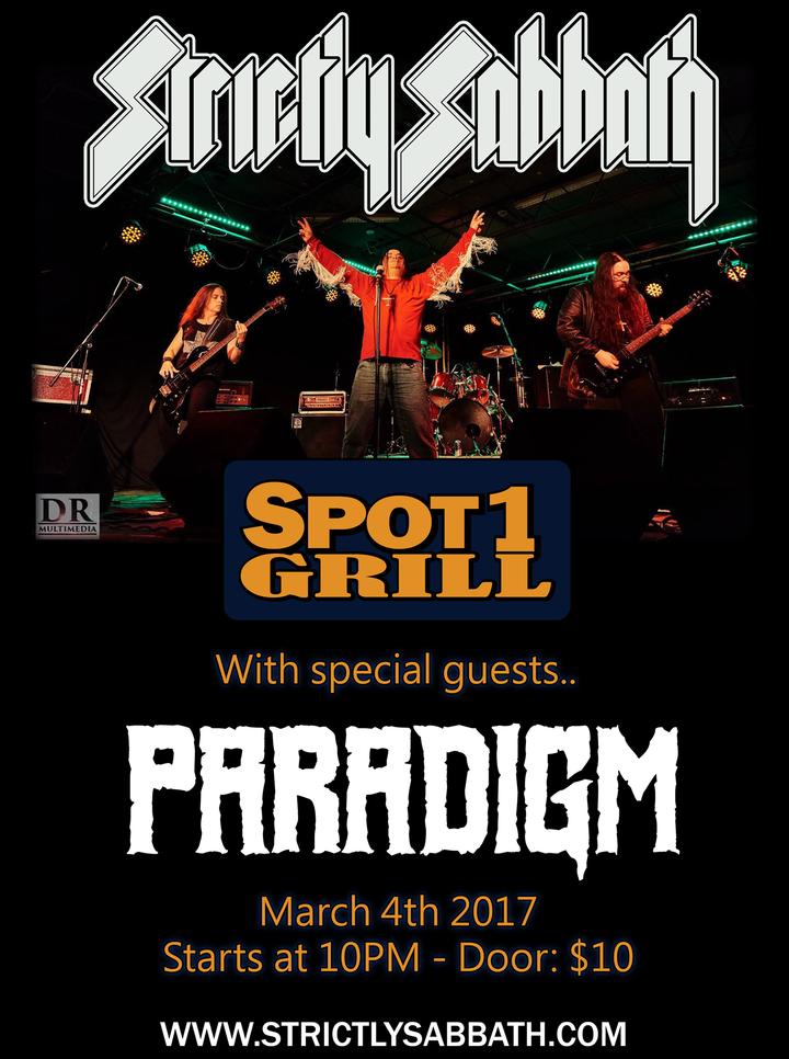 Strictly Sabbath @ Spot One - Brampton, Canada