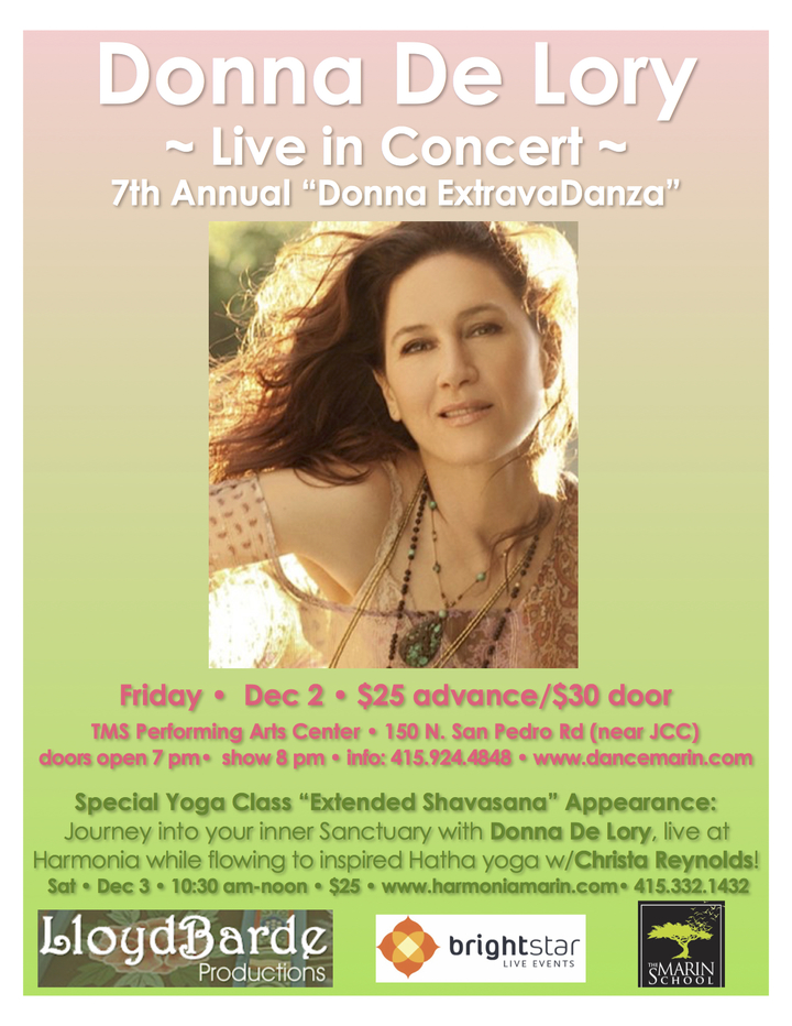Donna De Lory @ TMS Performing Arts Center - San Rafael, CA