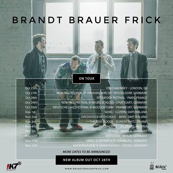 Brandt Brauer Frick Tour Dates