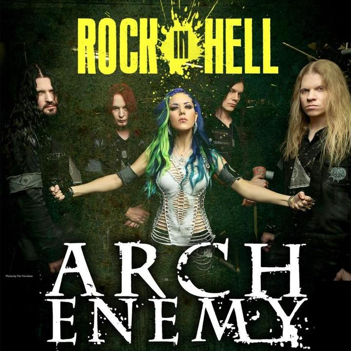 Arch Enemy @ Rock in Hell Festival - Colmar, France
