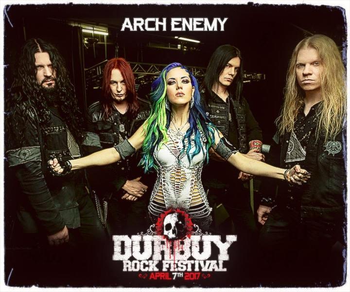 Arch Enemy @ Durbuy Rock Festival - Durbuy, Belgium