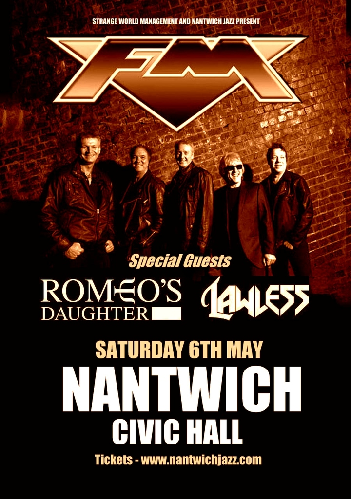 FM @ Civic Hall - Nantwich, United Kingdom