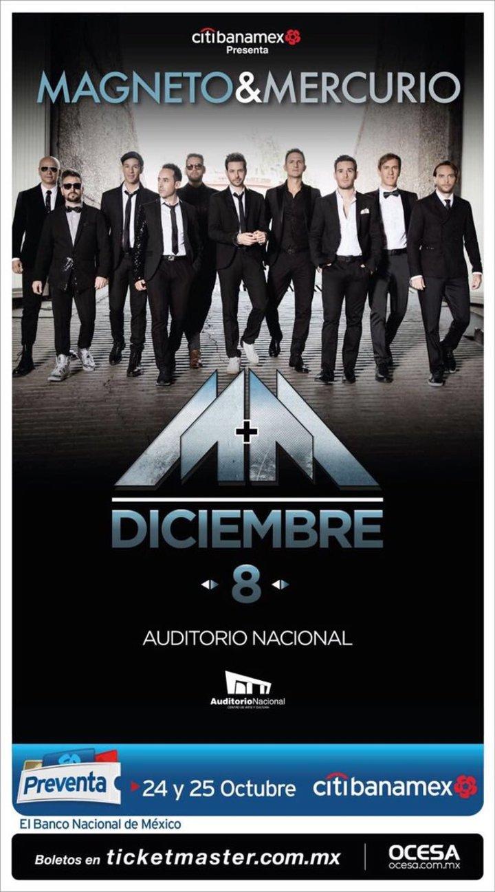 Grupo Mercurio @ Auditorio Nacional - Ciudad De México, Mexico