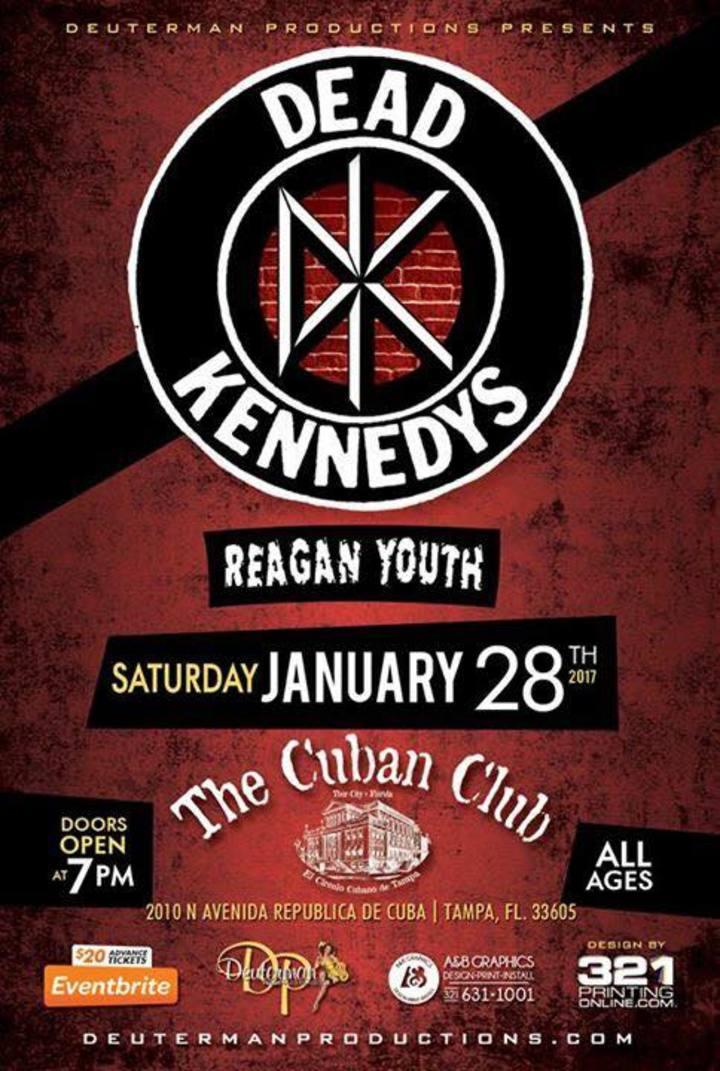 Reagan Youth @ The Cuban Club  - Tampa, FL