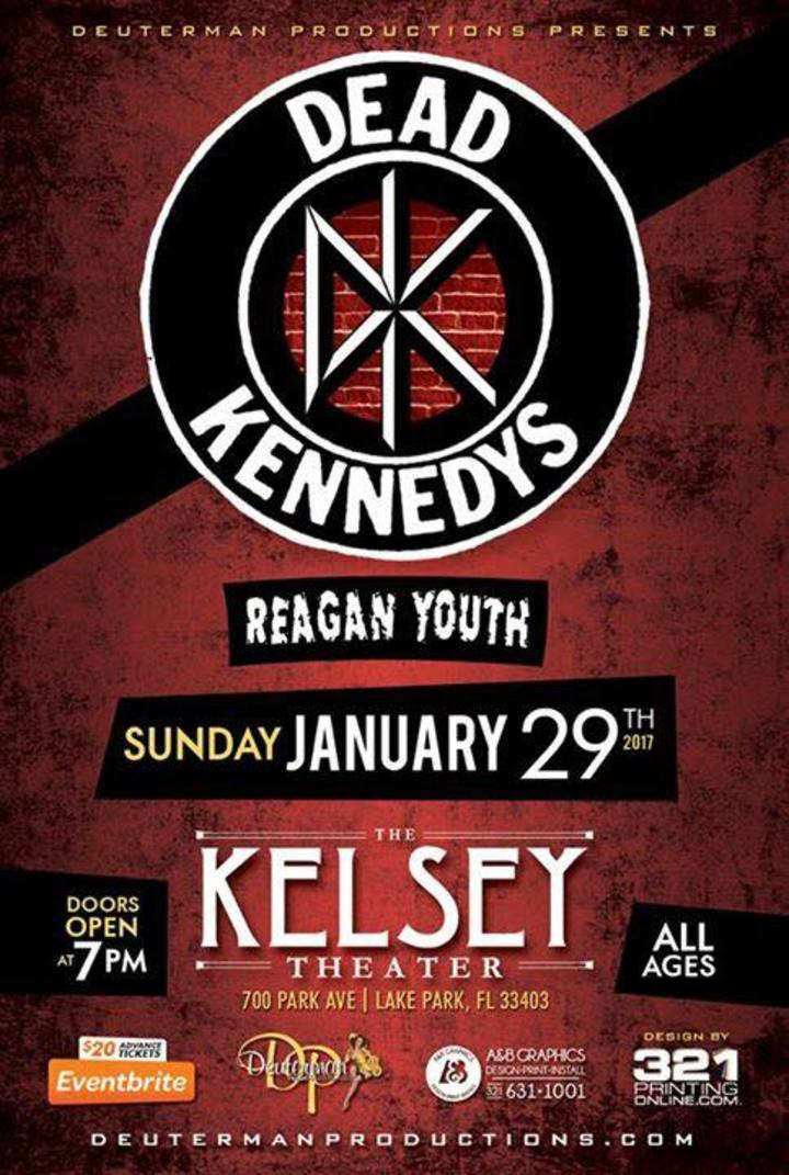 Reagan Youth @ The Kelsey Theater  - Lake Park, FL