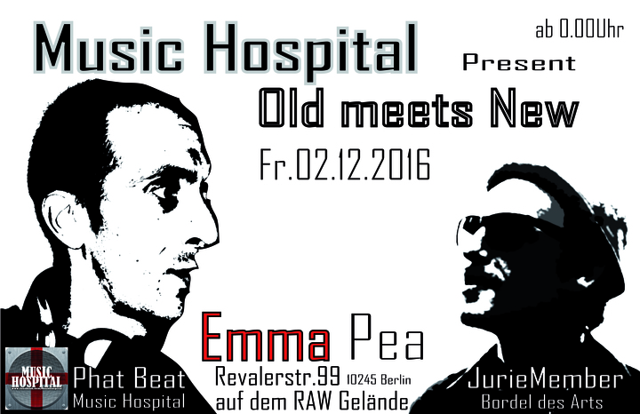 Music Hospital @ Sound Kitchen @ Emma Pea - Berlin, Germany