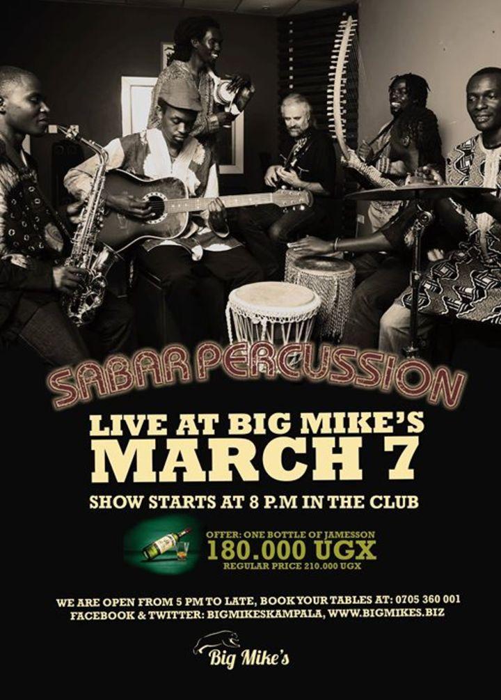Sabar Percussion Uganda Tour Dates