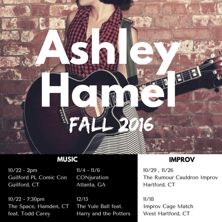 Ashley Hamel @ The Bell House - New York, NY