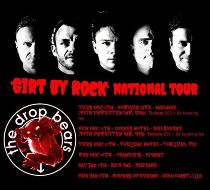 The Drop Bears Tour Dates