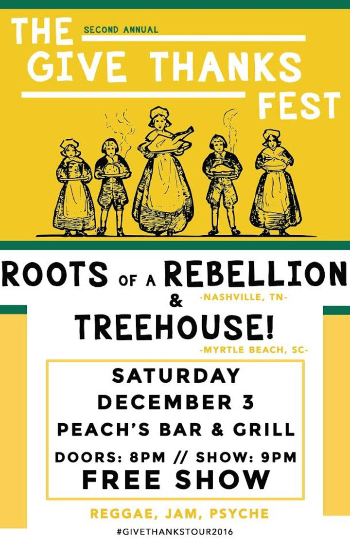 Treehouse @ Peach's  - Yellow Springs, OH