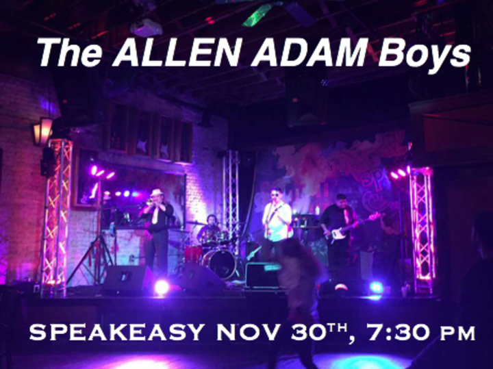 The ALLEN ADAM Boys @ Speakeasy - Austin, TX