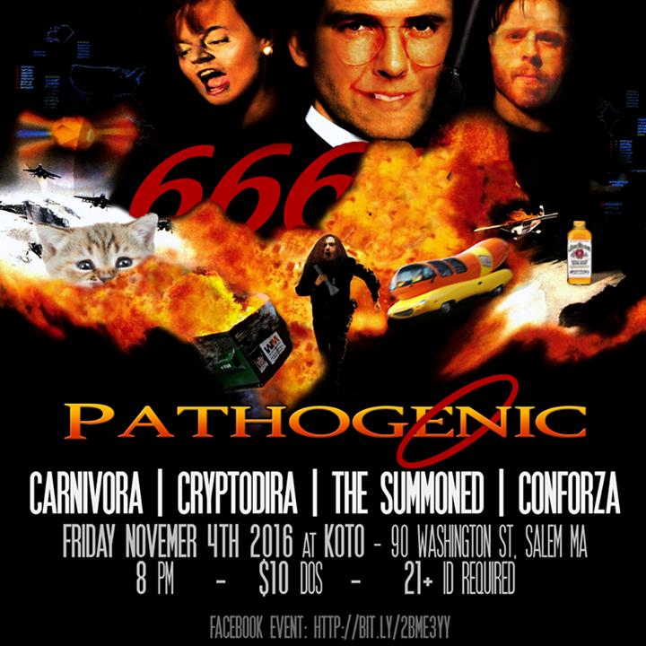 Pathogenic Tour Dates