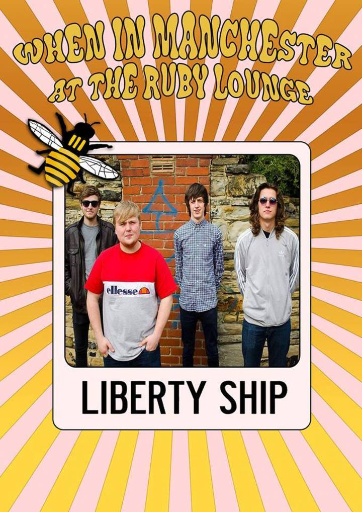 Liberty Ship @ The Ruby Lounge - Manchester, United Kingdom