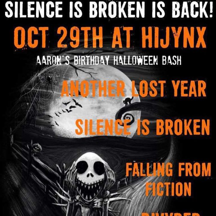 Silence is Broken Tour Dates
