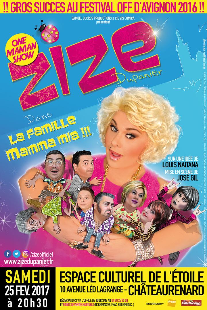 ZIZE Dupanier @ Salle l'Etoile - Châteaurenard, France
