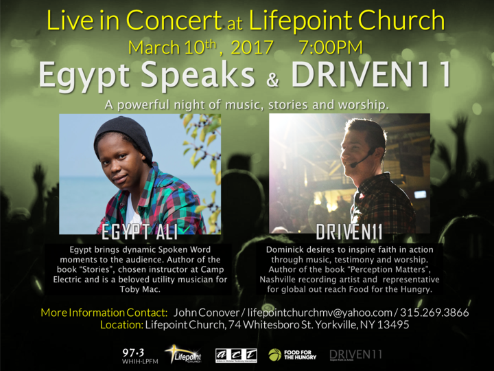 Driven11 @ Lifepoint Church / 97.3 - Yorkville, NY