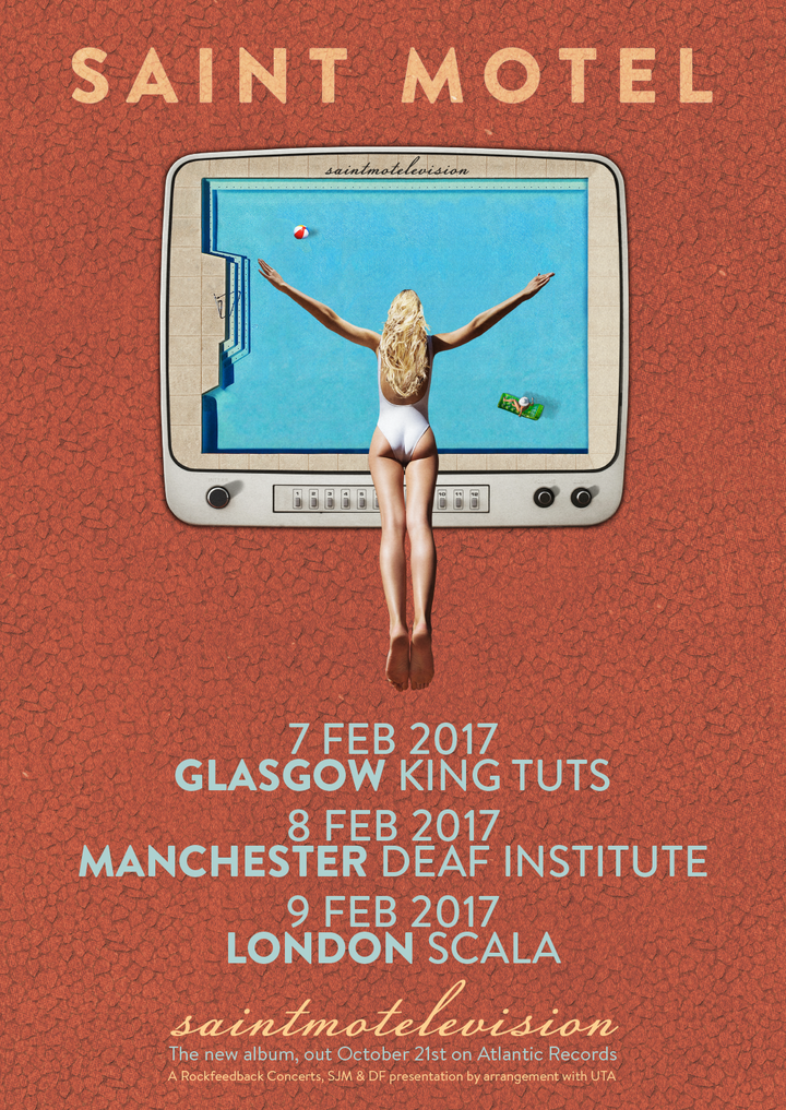 Saint Motel @ King Tuts - Glasgow, United Kingdom