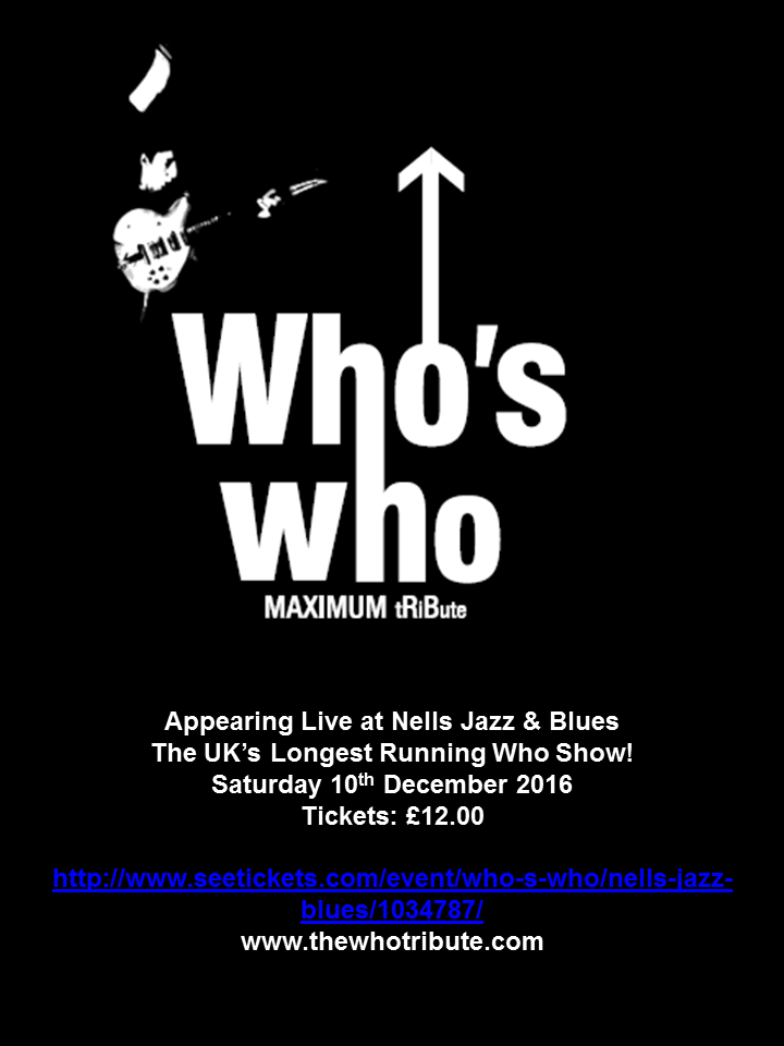 Who's Who @ Nells Jazz & Blues - London, United Kingdom