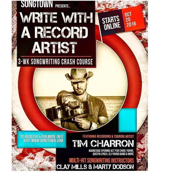 The Tim Charron Band Tour Dates