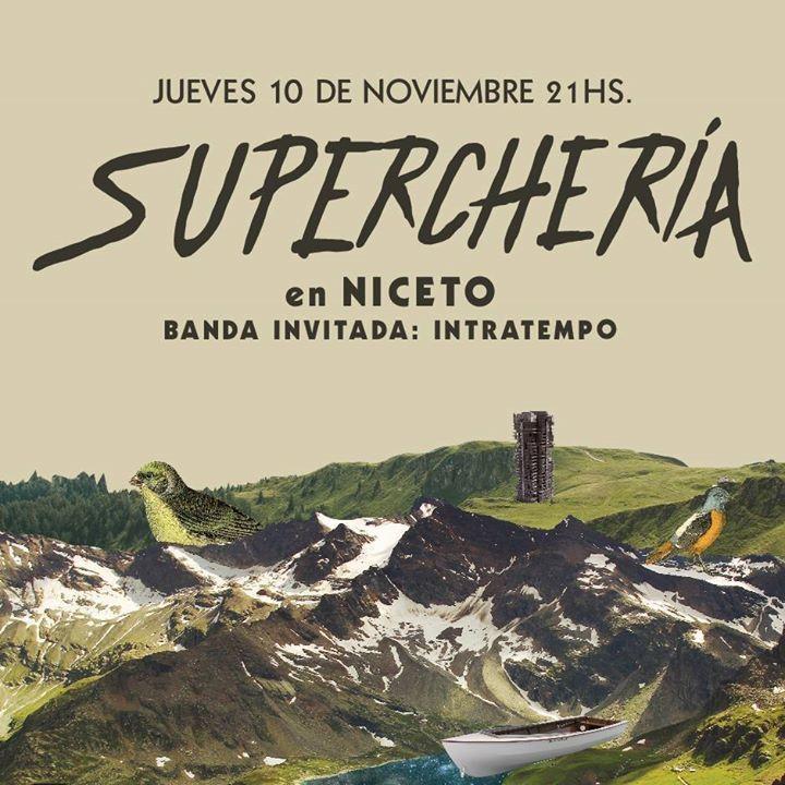 Supercheria Rock Tour Dates