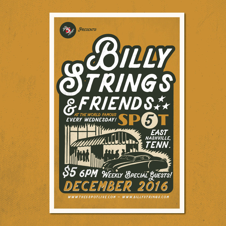 Billy Strings @ The 5 Spot - Nashville, TN