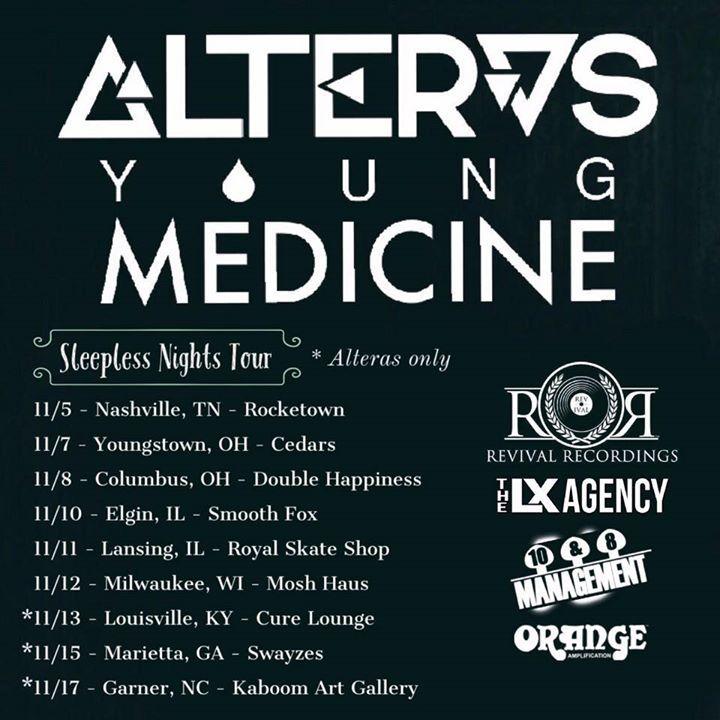 Alteras Tour Dates
