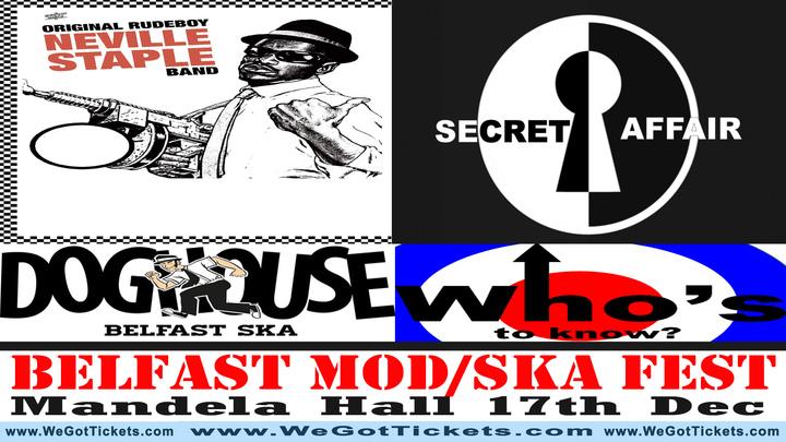 Secret Affair Official @ MANDELA HALL - Belfast, United Kingdom
