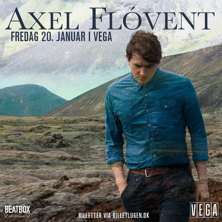 Axel Flovent @ Vega Ideal Bar - Copenhagen, Denmark