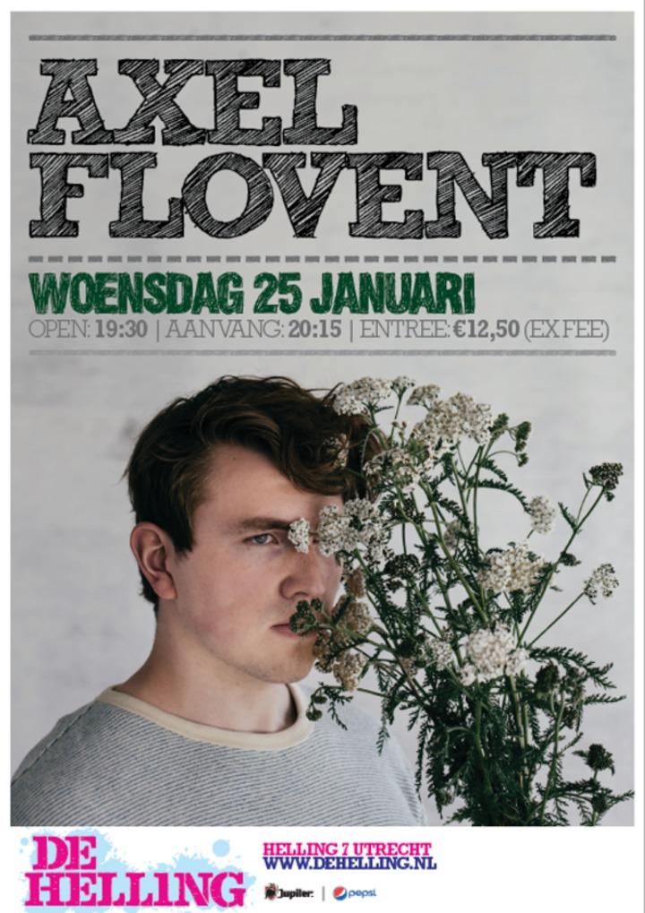 Axel Flovent @ TivoliVredenburg De Helling - Utrecht, Netherlands