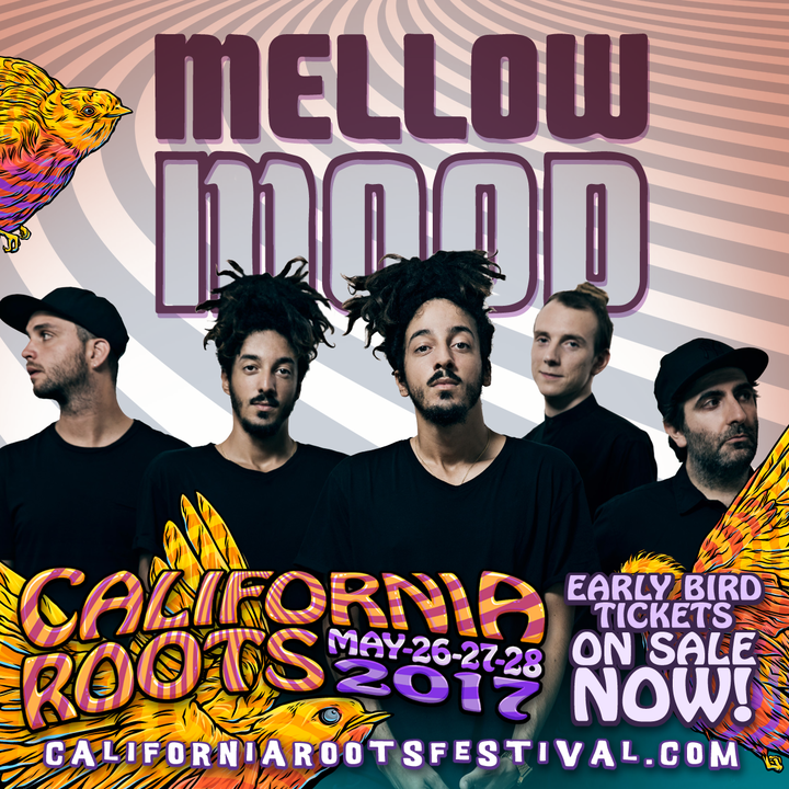 Mellow Mood @ California Roots Music & Arts Festival - Monterey, CA