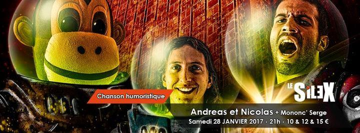 Andréas et Nicolas @ Le Silex - Auxerre, France