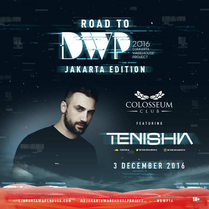 Tenishia @ Road to DWP, Colosseum - Jakarta, Indonesia
