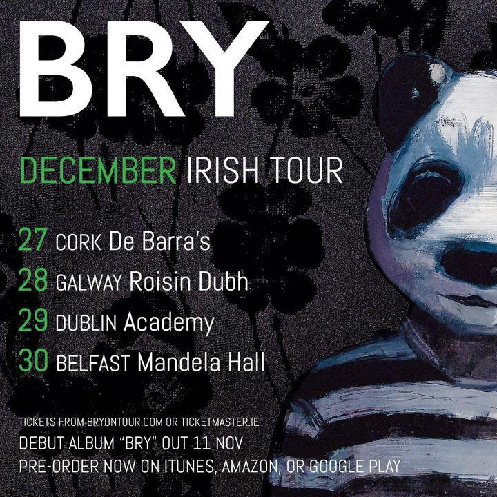 Bry @ MANDELA HALL - Belfast, United Kingdom